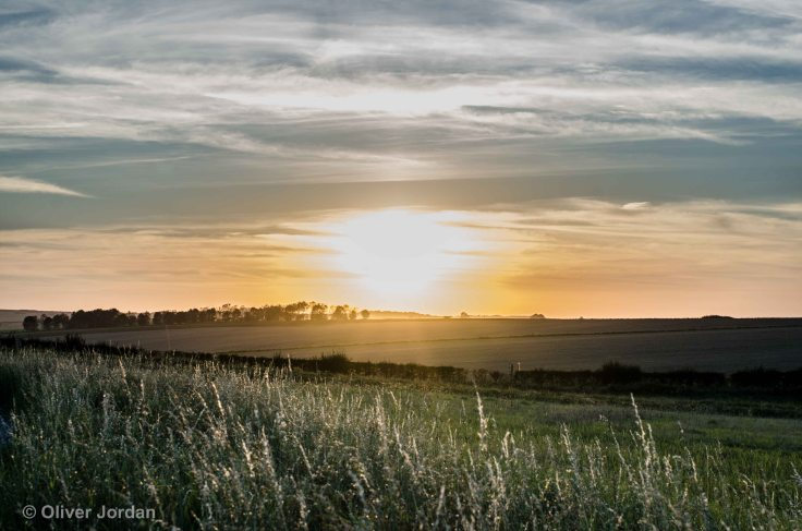Bonus picture - Sunset from Stonehenge car park