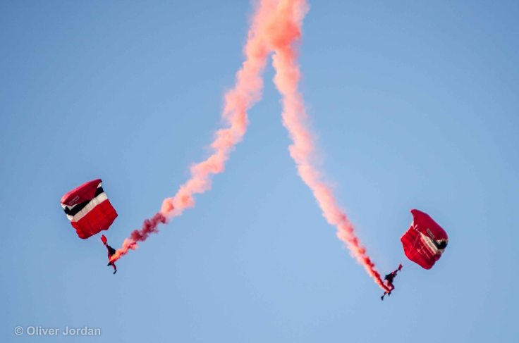 British Army parachute team, Red Devils.