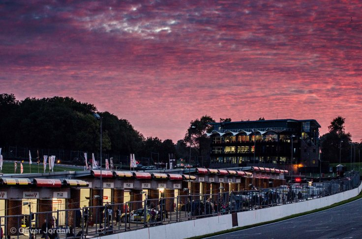 Sunset at Brands Hatch