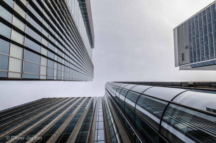 Canary Wharf skyscraper.
