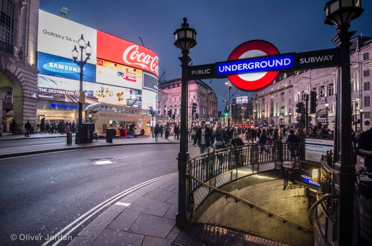 London Underground, Piccadilly Circus