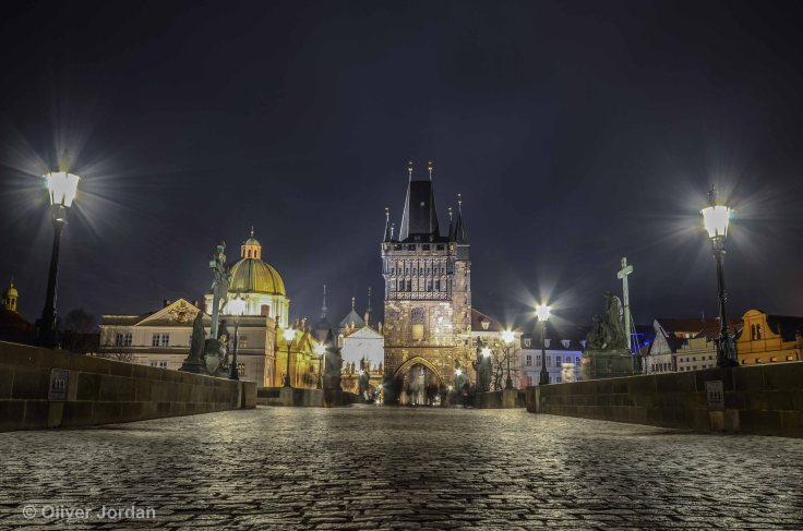 Prague, charles bridge.