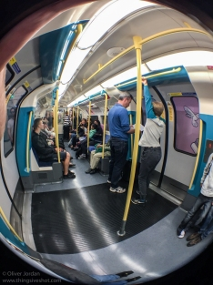 London Tube - 4-in-1 Olloclip - Fisheye
